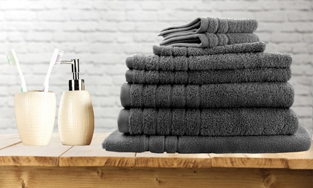 Egyptian Cotton 620 GSM Bath Towel Combo Set: Six $29 or Eight $36 Pieces Don't Pay up to $129.95