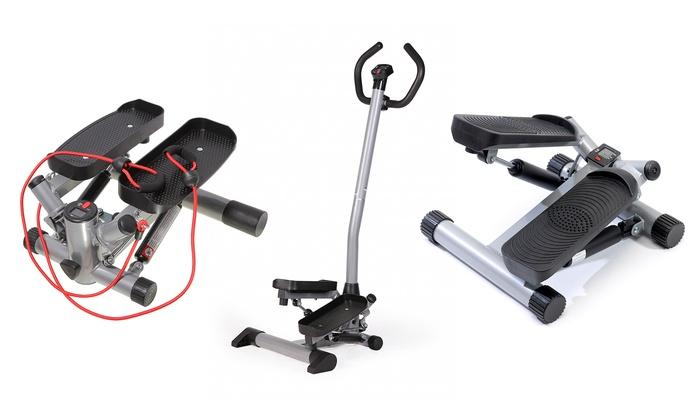 sportplus stepper f r zuhause groupon goods. Black Bedroom Furniture Sets. Home Design Ideas