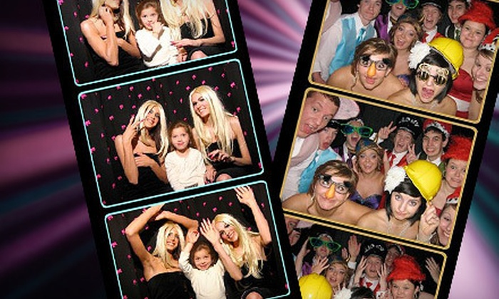 Snap Shot Photo Booth - Zanesville: $397 for Superstar Four-Hour Photo-Booth Rental from Snap Shot Photo Booth ($795 Value)