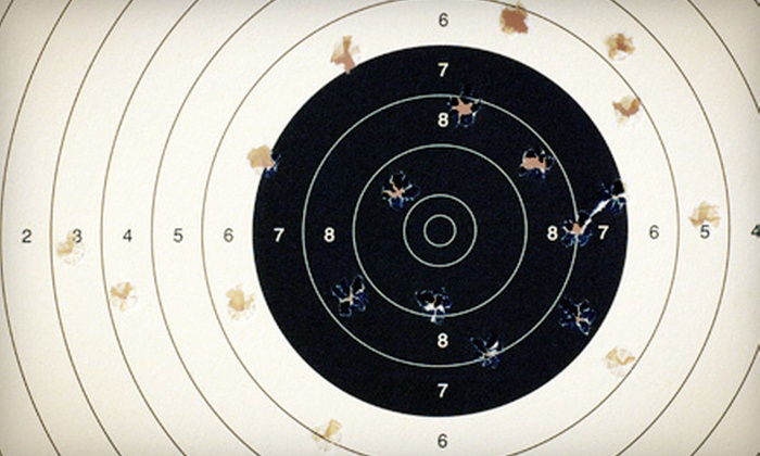 Bullet Trap, Inc. - Plano: Intro to Shooting Class for One, Two, or Four with Gun Rental, Ammo, and Range Fees at Bullet Trap, Inc. (Up to 72% Off)