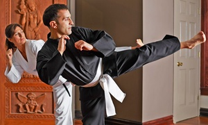 Elements of Self Defense: One or Three Month Martial Arts Membership with Uniform at Elements of Self Defense (Up to 64% Off)