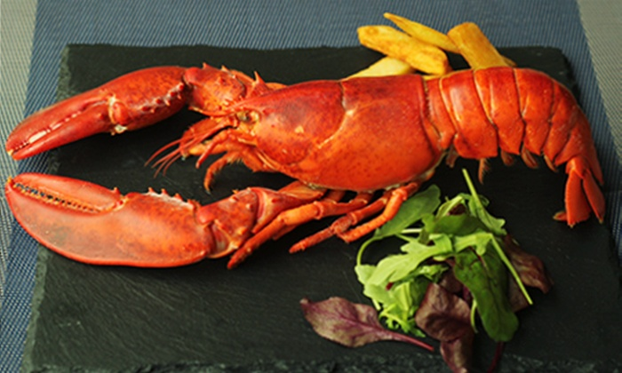 The Lavender - London: The Lavender: Six-Course Seafood Tasting Menu With Whole Lobster For Two from £39 (57% Off)