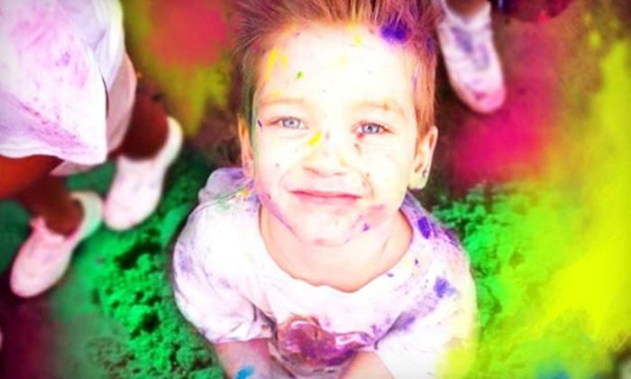 The Columbus Color Palooza - Franklinton: The Columbus Color Palooza Fun Run for One or Two on Saturday, June 22, at 10 a.m. (Up to 57% Off)