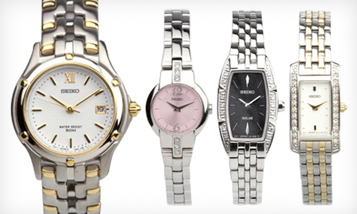 Seiko Women's Watches (Up to 75% Off). 10 Options Available. Free Shipping.