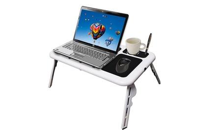 Tavolino porta PC con 2 ventole USB a 12,90 € di sconto | Italia ...