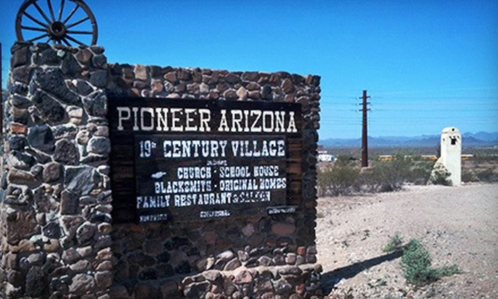 Pioneer Arizona Living History Museum - Pheonix: $15 for Admission for Four and Four Drinks at Pioneer Arizona Living History Museum ($34 Value)