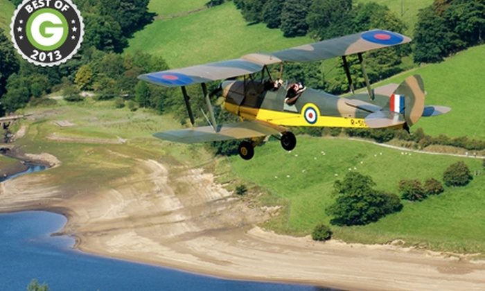 Blue Eye Aviation Club - Multiple Locations: WWII Aircraft Flight Experience from £89 with Blue Eye Aviation Club (Up to 55% Off)