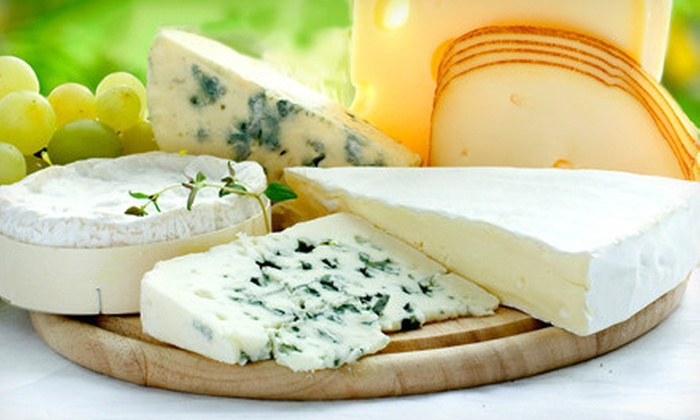 Cheese Emporium - Mt. Pleasant: International Cheese Package with Three or Four Cheeses at Cheese Emporium (Up to 52% Off)