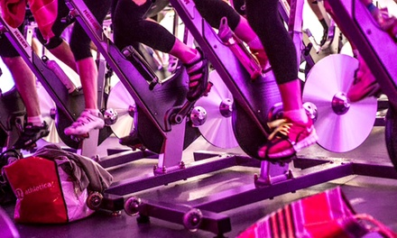 Five Indoor Cycling Classes or One Month of Unlimited Indoor Cycling Classes at Kinetic Cycling (Up to 71% Off)
