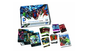 Dc comics deck building game groupon for 12 in 1 game table groupon