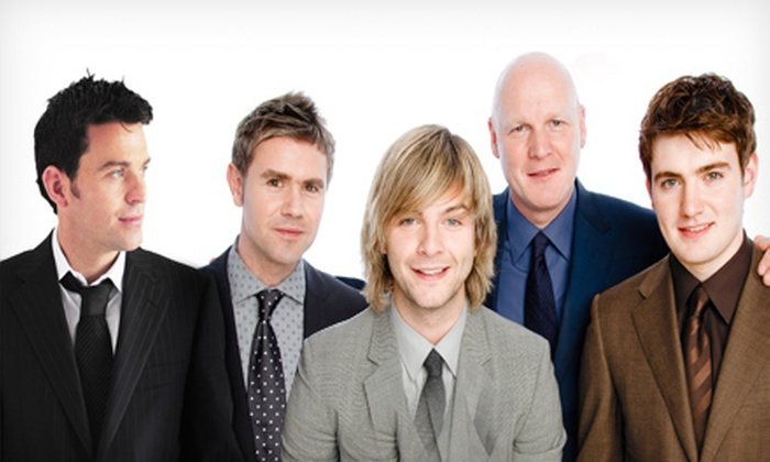 Celtic Thunder - Schiller Park: $45 to See Celtic Thunder at Akoo Theatre on Sunday, October 21, at 3:30 p.m. (Up to $91.25 Value)