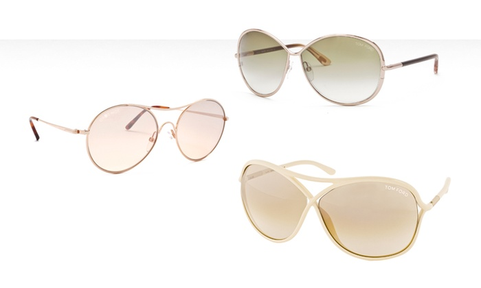 Tom Ford Women's Sunglasses: $99.99 for Tom Ford Women's Sunglasses (Up to 80% Off). Multiple Options Available. Free Shipping and Returns.