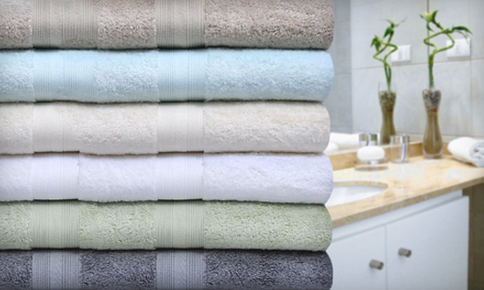 Spa Rayon from Bamboo Cotton Six Piece Towel Set: $39 for a Suite Spot Six-Piece Towel Set ($120 List Price). Six Colors Available. Free Shipping.