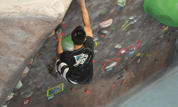 Hangar 18 East Riverside - Hunter Industrial Park: Month of Rock Climbing for One or Two or Two Days of Climbing for Two at Hangar 18 East Riverside (Up to 81% Off)
