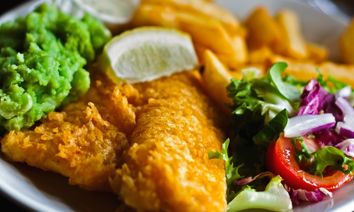 Robbie Walkers Fish 'n Chips - Medway: C$20 for Four Groupons, Each Good for $10 Worth of Food for Carryout from Robbie Walkers Fish 'n Chips ($40 Value)