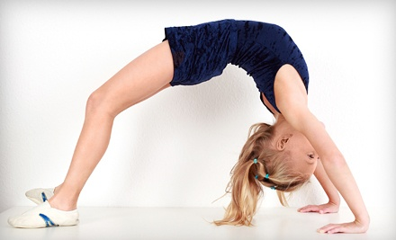 One or Three Months of Kids' Classes at Aerials Academy of Gymnastics and Dance in Vacaville (Up to 71% Off)