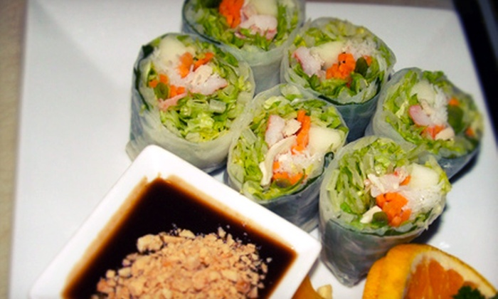 Siam First - South Weymouth: Thai Cuisine at Siam First (Half Off). Two Options Available.