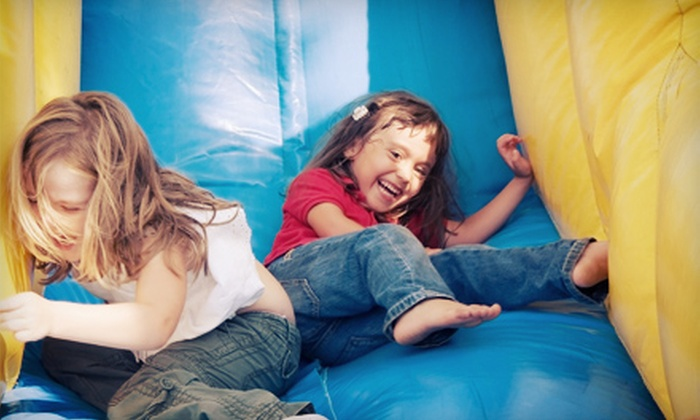 Pump It Up - Goose Island: 5 or 10 Pop-In Playtime Admissions at Pump It Up (50% Off)