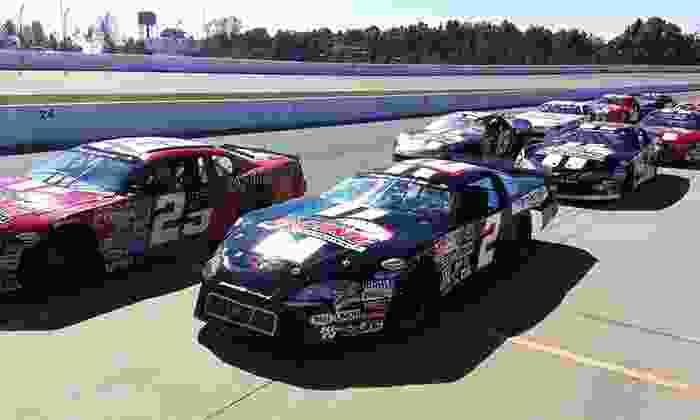 Rusty Wallace Racing Experience - Multiple Locations: Short-Track Racing Experience or Ride-Along at Rusty Wallace Racing Experience (Up to 60% Off)