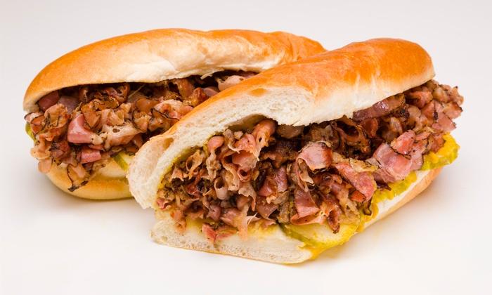 Gandolfo's New York Deli - Reno: Three or Five 1/2 Hero Sandwiches at Gandolfo's New York Deli (43% Off)