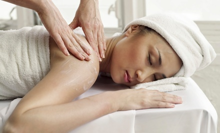 One or Three 60-Minute Therapeutic or Swedish Massages at   Queen B's Touch of Rejuvenation (Up to 51% Off)