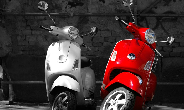 Vespa of Philadelphia - Northern Liberties -  Fishtown: Three-Hour Scooter Rental for One or Two at Vespa of Philadelphia (Up to 53% Off)