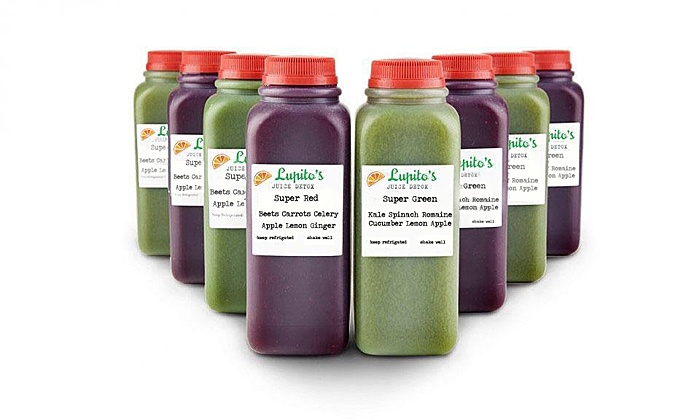 Lupito's Juice Bar - Pilsen: Three- or Five-Day Juice Cleanse at Lupito's Juice Bar (50% Off)