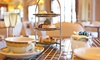 The Bridge Hotel - Northampton: Sparkling Festive Afternoon Tea for Two or Four at The Bridge Hotel (Up to 65% Off)