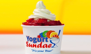 Yogurt Sundae: Three Groupons, Each Good for $8 Worth of Frozen Yogurt at Yogurt Sundae (Up to $24 Value)