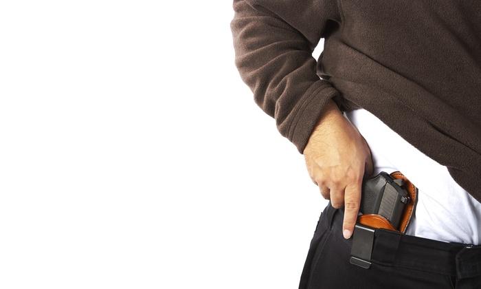 Fairfield County Basic Pistol Permit - Stamford: $115 for an NRA Basic Pistol Course from Fairfield County Basic Pistol Permit ($200 Value)