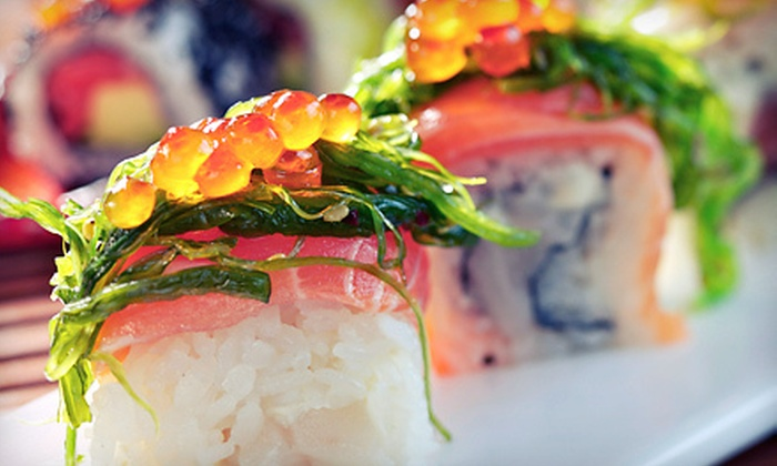 Asiana Sushi Grill - Panama City Beach: $15 for $30 Worth of Sushi at Asiana Sushi Grill