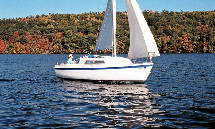 Nashalla Sailing - Waterville: 60- or 90-Minute Sailboat Charters for Two or Four at Nashalla Sailing (Up to 54% Off)