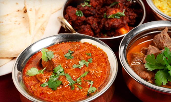 Maharaja Palace - Upper East Side: $29 for an Indian Dinner for Two with Appetizer, Entrees, Rice, and Bread at Maharaja Palace (Up to $58.75 Value)