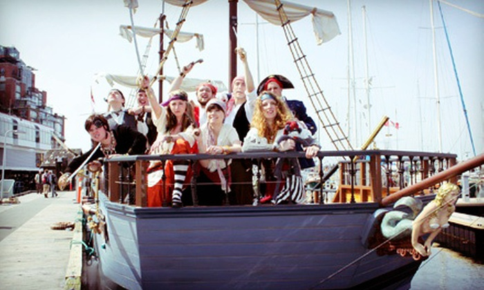 Pirate Adventures - Victoria: Pirate-Themed Sailing Adventure for Two or Four at Pirate Adventures (Up to Half Off)