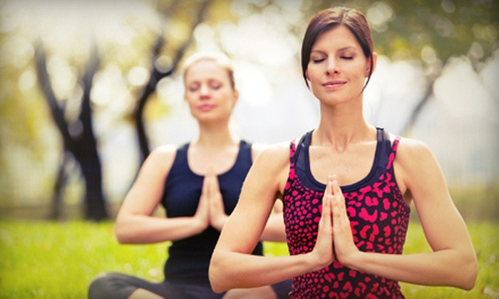 Hiking Yoga - Austin: Two Classes or Private Yoga Hike for Up to 15 People from Hiking Yoga (Up to 52% Off)