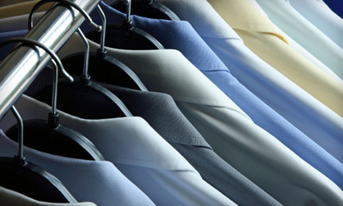 The Fashion Valet - Manor Section: Professional Dry-Cleaning Services at The Fashion Valet in Paramus (Up to 58% Off). Two Options Available.