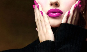 Nails by Jacqui: One or Three Mani-Pedis at Nails by Jacqui (Up to 61% Off)
