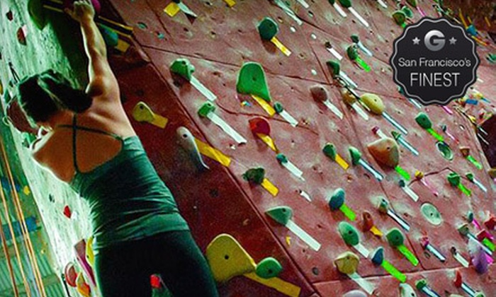 Touchstone Climbing - Multiple Locations: $75 for One Month of Climbing with Gear and Class at Touchstone Climbing (72% Off). Five Locations Available.