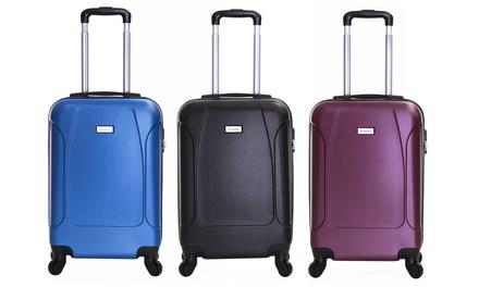 Slimbridge Monaco Lightweight Wheeled Hardshell Cabin Suitcase