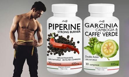 60 o 120 compresse perdi peso e brucia i grassi con Garcinia Cambogia&Caffè e Piperina Extraforte Line@Diet