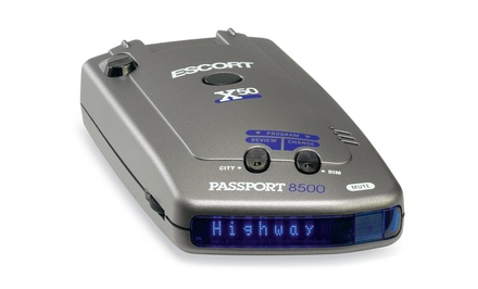 Escort 8500-X50 Radar Detector (Manufacturer Refurbished)