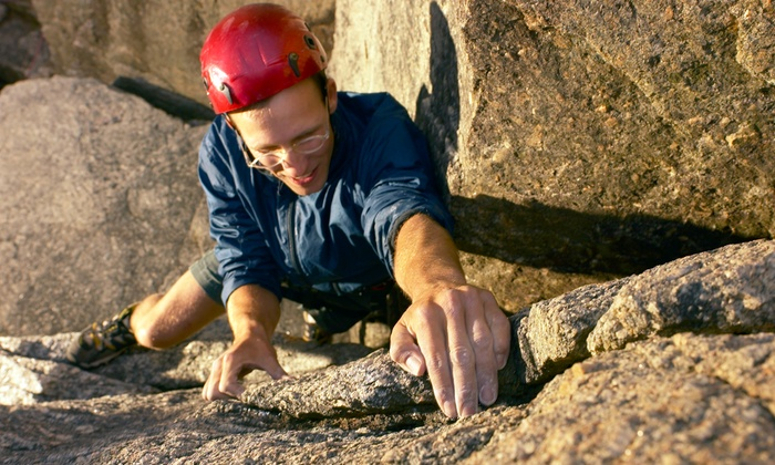 Live Adventure - Cedar Hill State Park: Six-Hour Guided Rock-Climbing Tour for Two or Four from Live Adventure (Up to 60% Off)