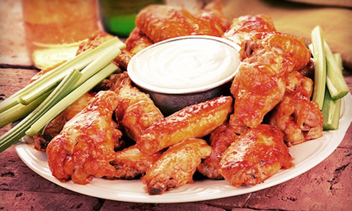 Wing Zone - Potomac West: $10 for $20 Worth of Wings and Burgers at Wing Zone