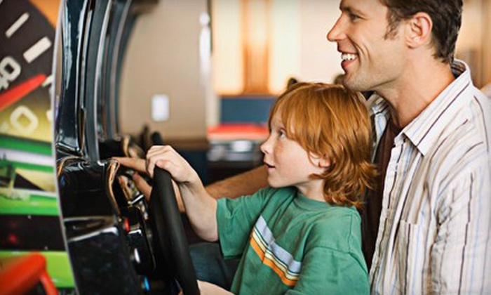 Jillian's of Chesapeake - Greenbrier East: $19 for $40 Worth of Video-Game Play at Jillian's of Chesapeake