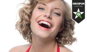 KISSCERAM: 1 o 2 implantes dentales de titanio con corona de metal-porcelana y limpieza bucal desde 499 €