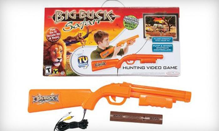 """""""Big Buck Safari"""" Plug and Play TV Game: $25 for a """"Big Buck Safari"""" Plug and Play TV Game ($39.99 List Price). Free Shipping."""