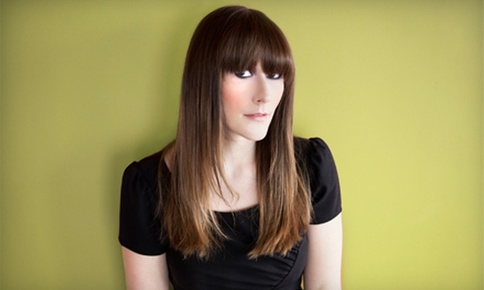 Jessica Haas at Alejandro Salon - San Buenaventura (Ventura): Haircut Packages from Jessica Haas at Alejandro Salon (Up to 66% Off). Four Options Available.