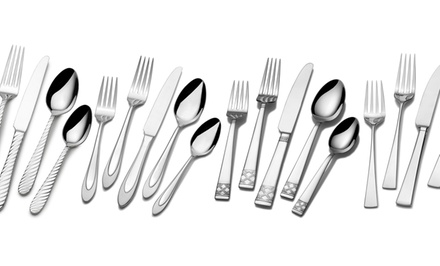 Mikasa 18/10 Stainless Steel Flatware Sets (20-Piece)
