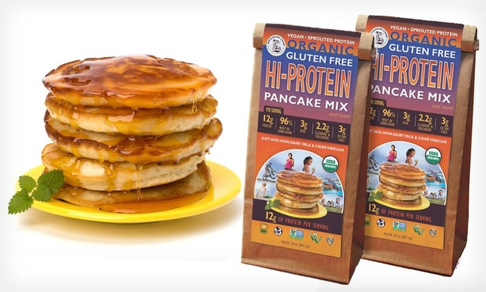 Wholesome Chow Organic Protein-Pancake Mix 2-Pack: Wholesome Chow Organic Protein-Pancake Mix 2-Pack. Free Shipping.