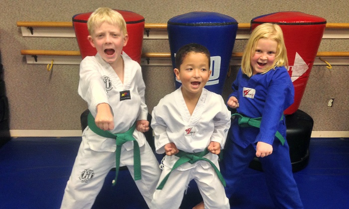 Kim's Taekwondo Institute - Amarillo: One Month of Martial-Arts or Gymnastics Classes for One or Two at Kim's USA Taekwondo and Gymnastics (90% Off)